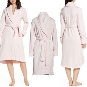 Ugg pink Duffield fleece lined wrap belted robe
